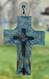 Confirmation Cross, Pampeana, on window