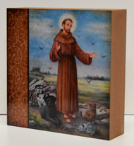 St. Francis Wood Block