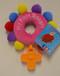 Pink Plush Rosary Ring