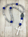 marbled grey rosary