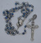 Silver blue rosary-2