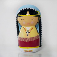 St. Kateri Tekakwitha, Shining Light Doll, Ages 0-100+