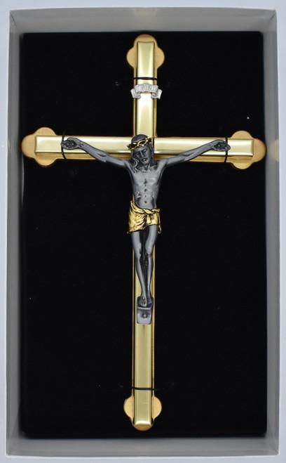 2 toned crucifix