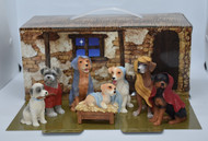 canine nativity - 1