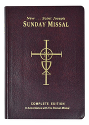 Sunday Missal, red flexible cover