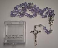 Lisa's Catholic Treasures, Contreras, Blue/Lavender rosary