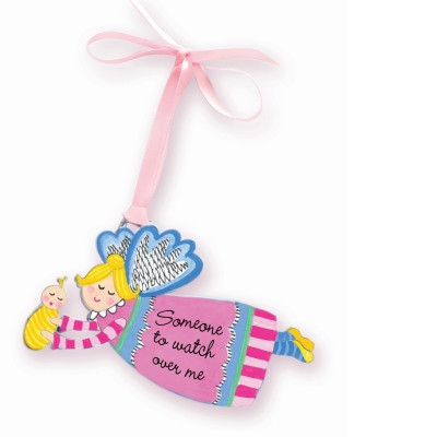 Lisa's Catholic Treasures, CA Gift, Artmetal pink angel