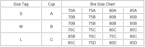BrytCouture Bra Size Guide