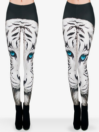 Celebrity Styled 3D Cat Head Leggings