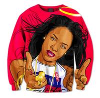 BrytCouture Limited Edition Aliyah Babygirl 3D Unisex Sweatshirt.