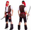 Pirate Cosplay Viking Warrior Sexy Party Outfit/ Haloween Costumes - Male