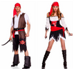 Pirate Cosplay Viking Warrior Sexy Party Outfit / Haloween Costumes - Women men