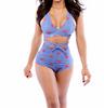High Waist Victoria Style 2 Piece Swimwear