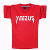 Yeezus Unisex Short Sleeves T-Shirt - Red