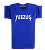 Yeezus Unisex Short Sleeves T-Shirt - Blue