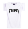 Yeezus Unisex Short Sleeves T-Shirt - White