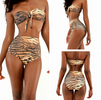 Wild Retro High Waist Brazilian Style Push Up Bikini