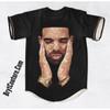 BrytCouture Limited Edition Drake OVO Baseball Jersey - Unisex