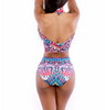 Colorful High Waist Bikini Swimwear