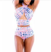 New Twisted  High Waist Bikini Swimwear