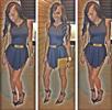 Summer High-Low Pleated Mini Sleeveless Dress