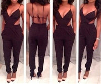 Backless String Rompers Suit OM105