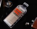 Absolut Vodka Bottle Luxury iPhone Case Orange