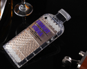 Absolut Vodka Bottle Luxury iPhone Case Purple