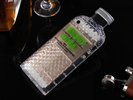 Absolut Vodka Bottle Luxury iPhone Case Green
