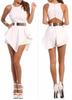 Explosion White Mini Dress White