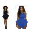 Explosion Mini Dress black blue
