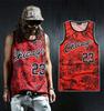 3D Floral Print Chicago Jordan 23 Slim Fit Vest
