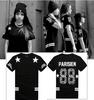 Hip Hop Street Wear Parisien Print Unisex T-Shirt