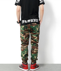 Banded Ankle Men Camouflage Military Jogger