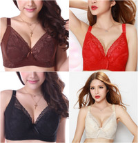 Plus Size Push Up Lace Bra VS Style