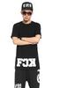 Couple FCK Hip Hop Zipper Street Wear Tee Shirt