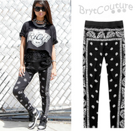 Hip Hop Bandana Styled Leggings