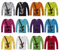 Boys and Girls Giraffe Long Sleeves T-Shirt - Unisex