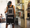 Bandana Print KTZ Style Men Hip Hop Vest