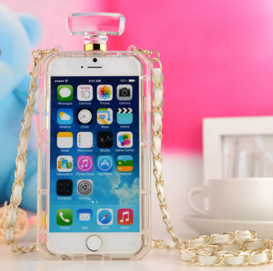 online retailer a4add aef11 Luxury Perfume Bottle iPhone 6 and 6 Plus Case