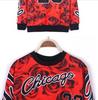 3D Floral Print Chicago Jordan 23 Hoodie