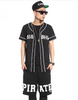 Couple MISBHV Baseball Short Sleeves Cardigan - Unisex