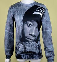 Wiz Khalifa 3D Print Unisex Sweater