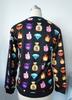 Unisex Gorgeous Emoji Pullover Sweater Black BrytCouture