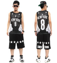 New York Star Number 8 Hip Hop Pyrex Tank Tops