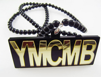YMCMB Hip-Hop Fashion Necklace Gold