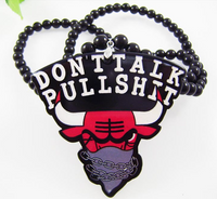 """Don't Talk Pullshit "" Hip-Hop Fashion Necklace"