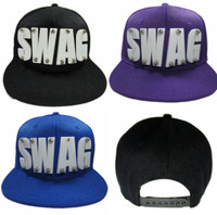 Hip-Hop Swag Snap-Back Hat - 4 Colors