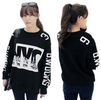 2014 Celebrity Autumn NYC Print Pullover Sweater