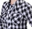 Casual Longsleeves Plaid Women Shirt